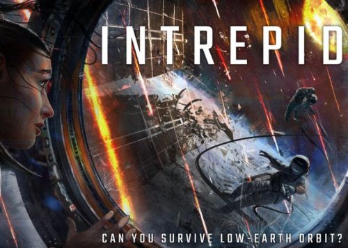 Intrepid cooperative, strategic, asymmetric board game of survival