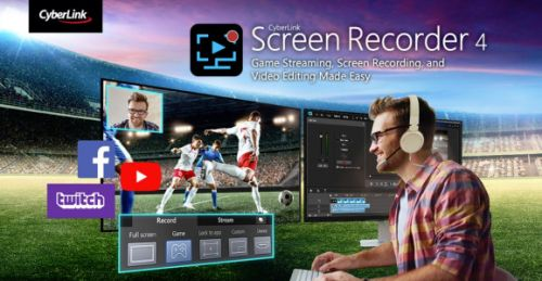 CyberLink's Screen Recorder 4 streams, edits, and captures videos