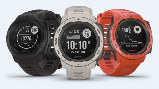 Garmin Instinct outdoor watch with GPS and a rugged build launched in India
