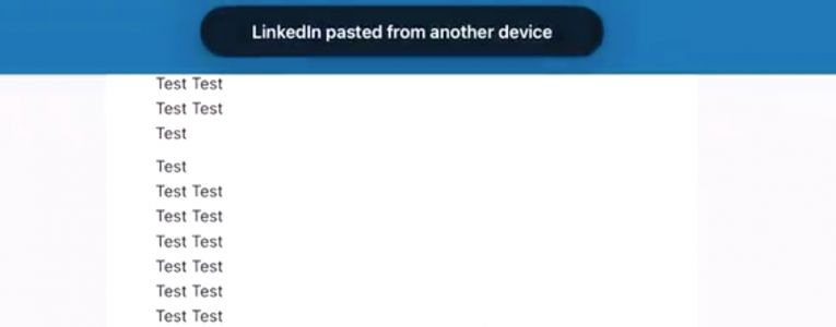 LinkedIn Says iOS App Reading Clipboard With Every Keystroke is a Bug, Fix Coming