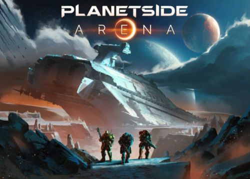 PlanetSide Arena 500 Player Battle Royal launches January 29th 2019