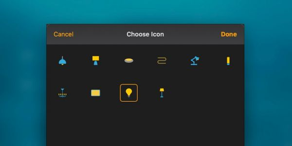 MacOS Catalina Home app adds new icon options for HomeKit lights and plugs