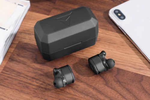 These wireless earbuds sound great and mold to your ears for a perfect fit