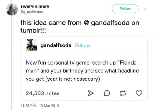"""Why you should steer clear of """"Florida Man Challenge"""""""