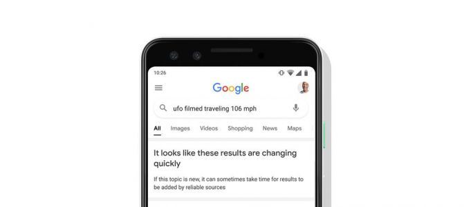 Google Will Now Warn Users About Unreliable Search Results