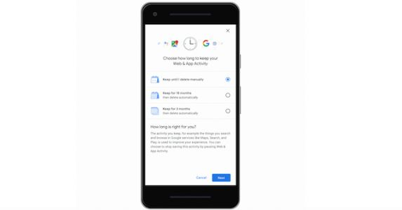 Google's Tool For Auto-Deleting Location And Activity Data Rolling Out
