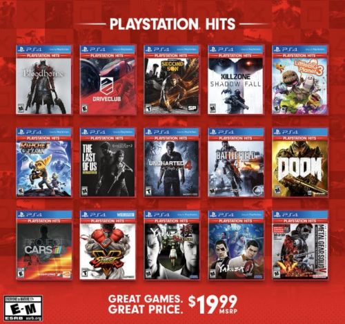 PlayStation Hits 20+ Games Bundle Announced For $20