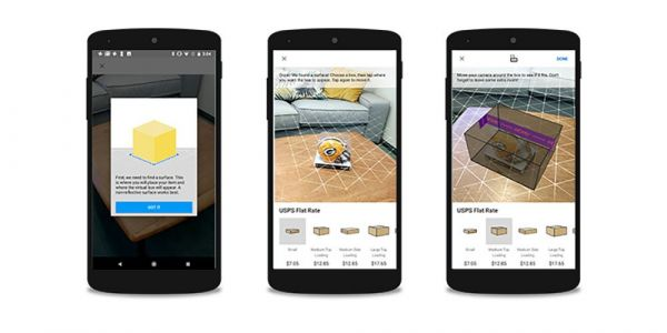 EBay uses ARCore to help better package products you sell