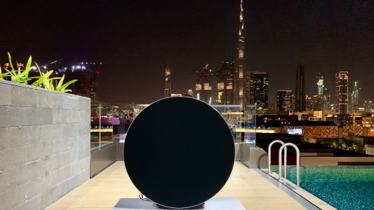 The premium and pricey Beosound Edge speaker arrives in the UAE