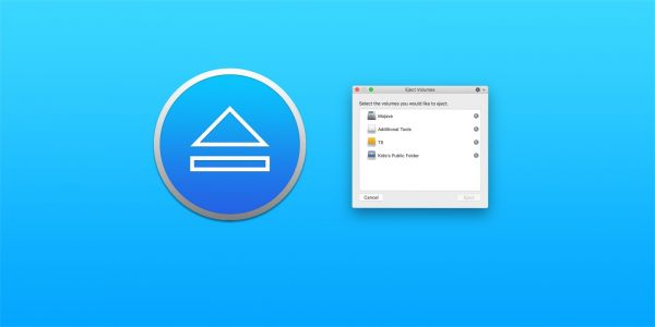 Ejector is a new macOS app that makes it easy to manage drives w/ your keyboard & Touch Bar
