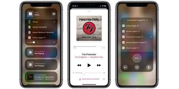 AirPlay: Naming Apple TVs and HomePods to avoid (2) and other issues