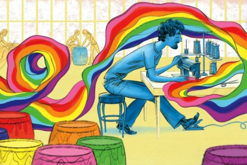 A New Picture Book Helps Families Celebrate Harvey Milk and the Rainbow Flag