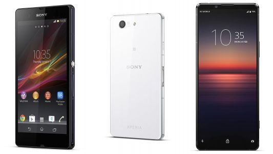 Sony smartphones: a complete history of Xperia flagship phones ahead of Xperia 1 III