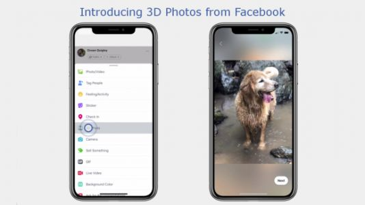 Facebook's new 3D Photos use iPhone camera data to simulate depth