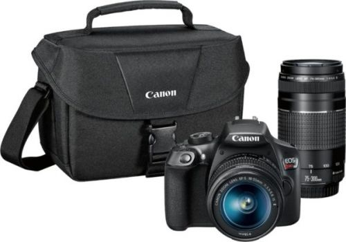 You Can Get the Canon EOS Rebel T6 DSLR & Two Lenses For $400