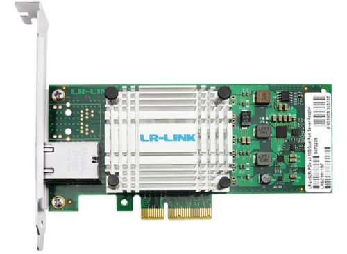 LR-Link Launches Intel X550-Based 10 GbE NICs: Starting at $155