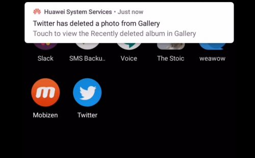 Huawei smartphones in China are deleting images downloaded from Twitter