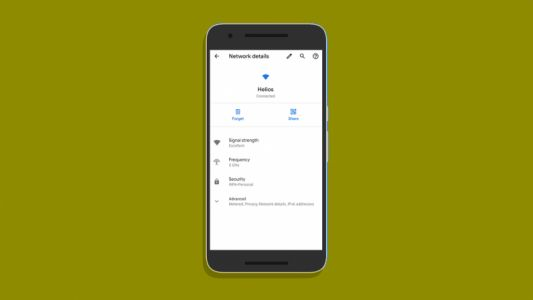 Android Q makes sharing your WiFi password with friends super easy