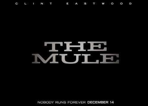 The Mule directed by and starring Clint Eastwood