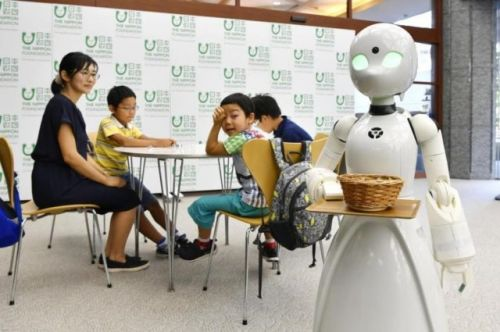 Cafe In Tokyo Employs Robots That Are Controlled By The Disabled