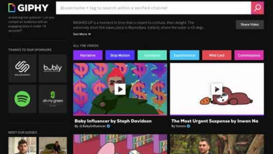 Giphy Launches Its Own Short Form Video Platform