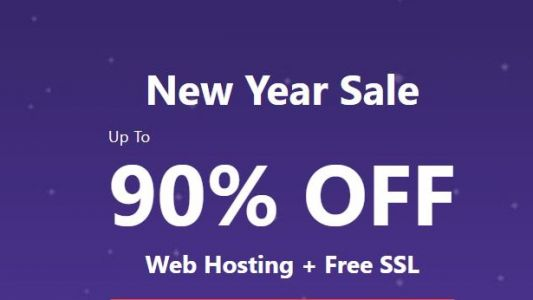 There's a massive 90% off on this web hosting deal.but for this weekend only