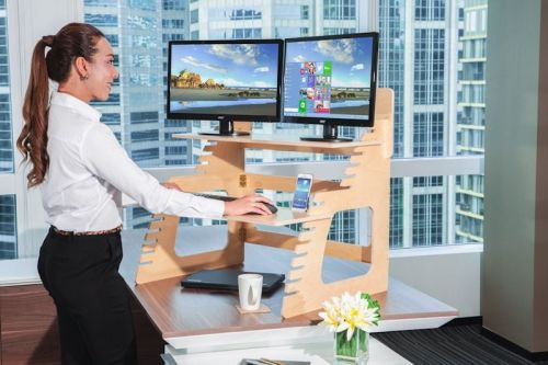 Welldesk Standing Office Desks Keep You Healthy And Boost Productivity