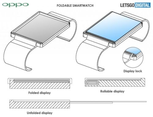 OPPO's Next Smartwatch Could Have A Rollable Display
