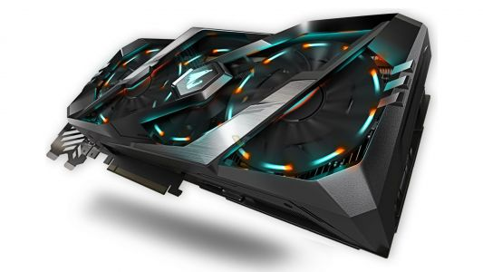 Aorus' RTX 2080 Xtreme 8G graphics card has seven video ports