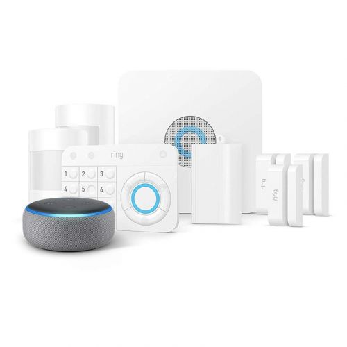 Prime members get $60 off a Ring Alarm 8-Piece Kit and Echo Dot bundle