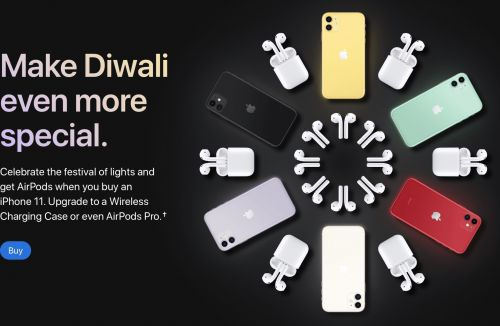 Apple Offering Free AirPods With iPhone 11 Purchase in India as Part of Diwali Celebration