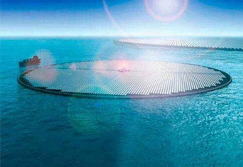 Creative thinking: Researchers propose solar methanol island using ocean CO₂
