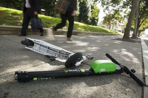 Head injuries, broken bones plague e-scooter users as more data rolls in
