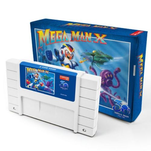 Capcom's 'Mega Man' Classics Have Been Released In Cartridge