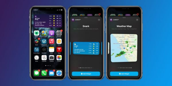 Carrot Weather shines on iOS 14 with 12 rich widgets, 25 Apple Watch complications, more