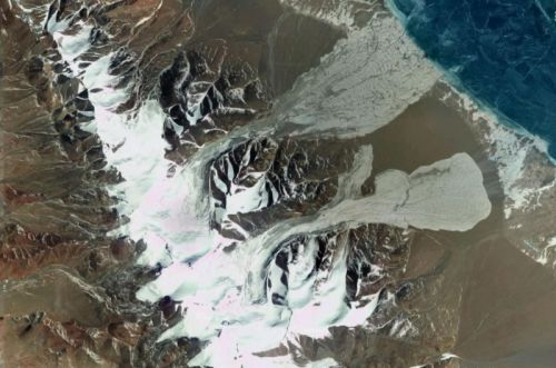 Many glaciers letting rivers run low, others are falling apart