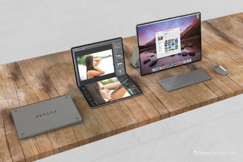 Concept Imagines The MacBook With A Foldable Display