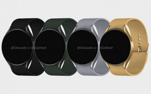 New Samsung Galaxy Watch Active 4 image renders, details leaked