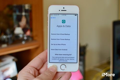 How to restore your iPhone or iPad from a backup
