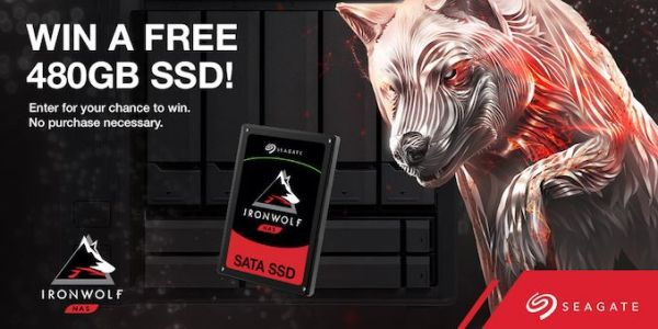 Giveaway: Seagate Ironwolf 110 SSD