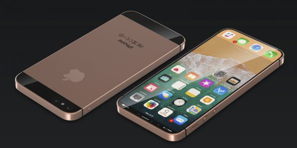 Redesigned iPhone SE imagined with an iPhone X-like edge to edge display