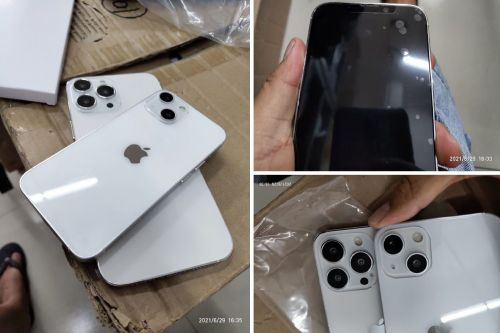 More iPhone 13 dummy handsets confirm new design
