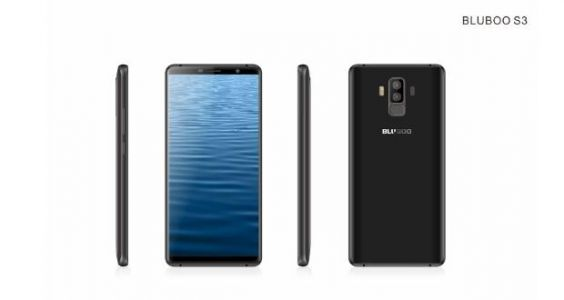 BLUBOO S3 Is A Galaxy S9 Look-Alike With An 8,300mAh Battery