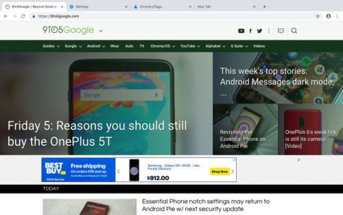 Chrome 69 To Arrive In September With Design Update