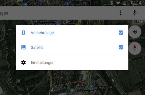 Google Maps Satellite View Now Available On Android Auto