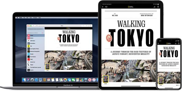 Apple News+ Expanding to United Kingdom and Australia in iOS 13
