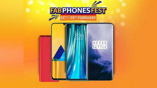 Amazon Fab Phones Fest 2020: best deals and offers on smartphones