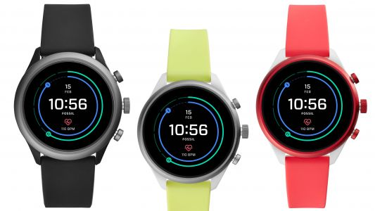 Fossil Sport is the brand's first smartwatch to use Snapdragon Wear 3100
