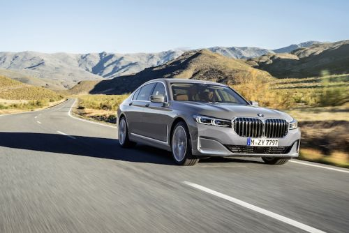 2020 BMW 7 Series shown off on video