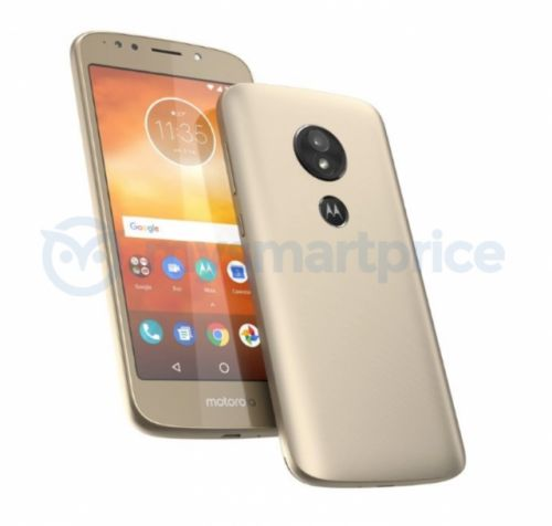 The Moto E5 could arrive in April with a rear-mounted fingerprint scanner